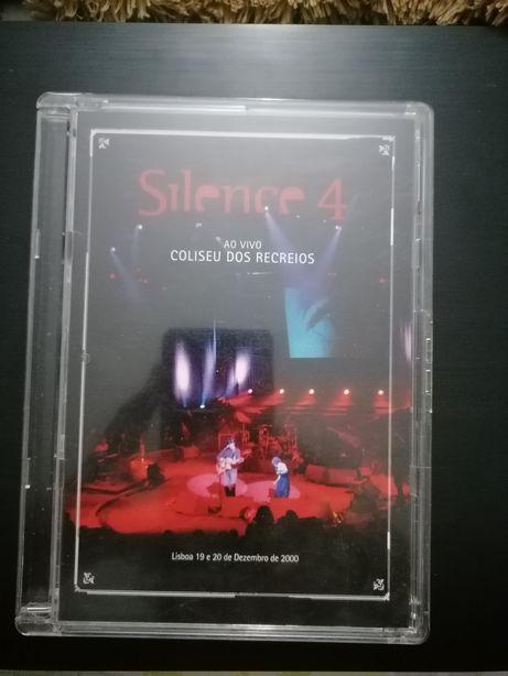 DVD Silence 4 ao vivo Coliseu dos Recreios
