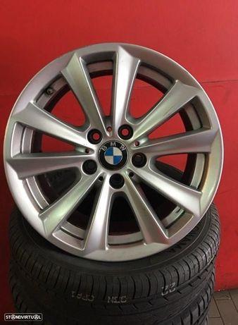 Jantes 17 Originais bmw serie 5 8x17 et 30 usadas em bom estado com pneus usados