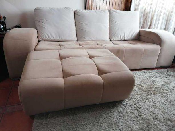 sofá chaise long (amovível)