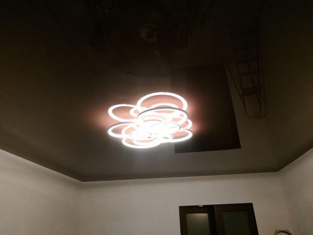 Натяжні стелі та електричні теплі підлоги