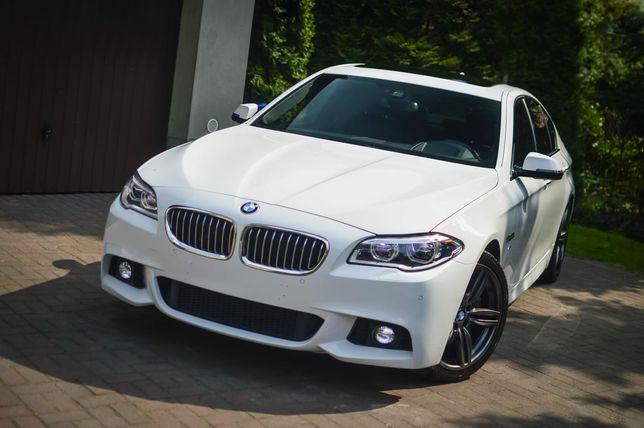 Auto do ślubu Białe BMW 5 m pakiet super niska cena 400 zł pozdrawiam