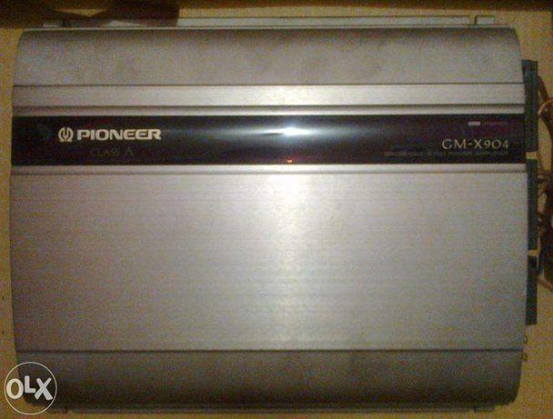 Amplificador Auto Pioneer Class A GM-X904 600w - troco