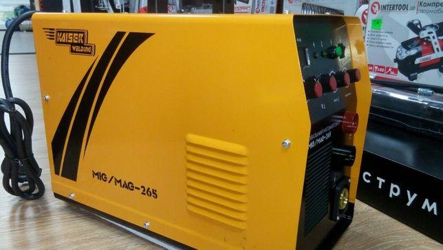 Продам сварочный полуавтомат KAISER MIG/MAG - 265
