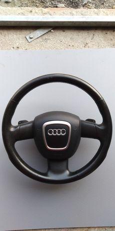 Kierownica z łopatkami + Air Bag Audi A3