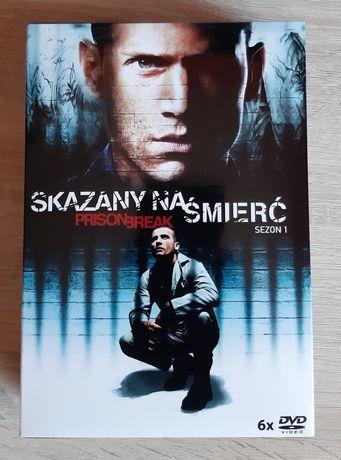 Skazany na śmierć (Prison Break)  sezon 1 na DVD