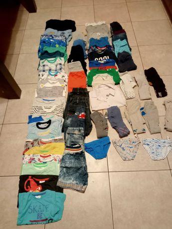 Paczka paka ubrań dla chłopca 92