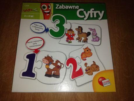 """Marcheweczka gra dla dzieci """"Zabawne cyfry"""" Lisciani Giochi Tanio !!!"""