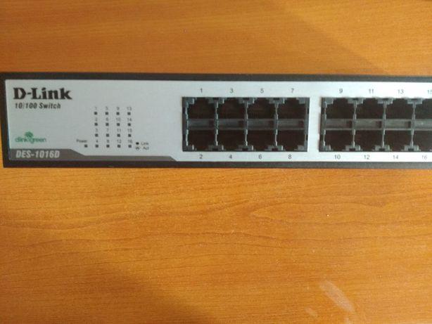 Комутатор D-Link DES-1016D