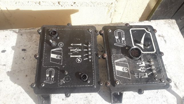 Moduł elektroniki Skrzynka detektora metalu Sieczkarnia John Deere