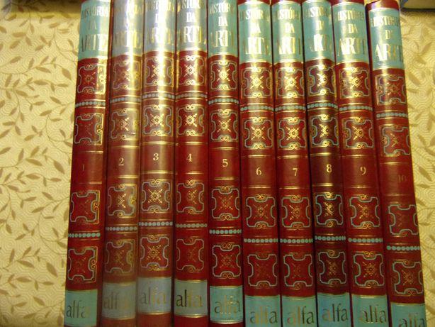 7409 - Arte - História da Arte, Alfa ( 10 Volumes )