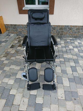 Інвалідна коляска з туалетом OSD-MOD-2-45