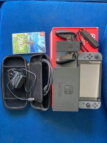 Nintendo Switch V2 + Zelda , Ring Fit