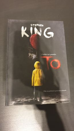 To -Stephen King twarda okładka