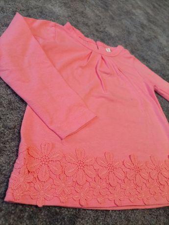 Koszulka, bluzka, tunika dla dziewczynki rozmiar 80