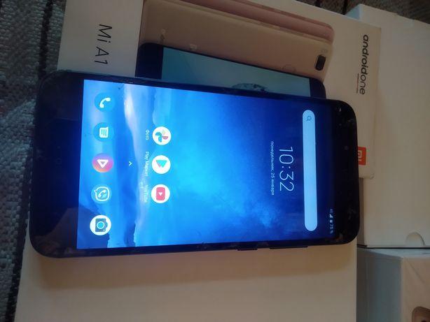 Mi a1 4/64 Xiaomi, рабочий, очень не дорого.