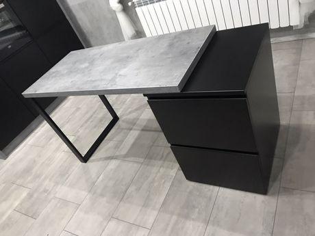 Wyspa kuchenna-  stół loft beton kuchenna konsola