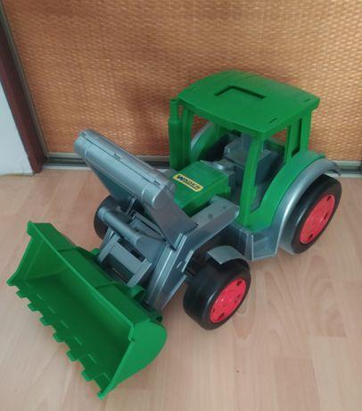 Gigant traktor farmer ładowarka wader duża zabawka