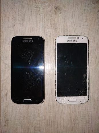 Samsung Galaxy S4 mini biały i czarny