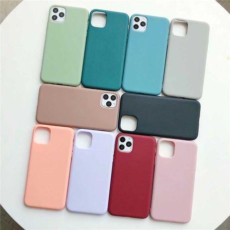 Silikonowe etui do iPhone 11 PRO różne kolory