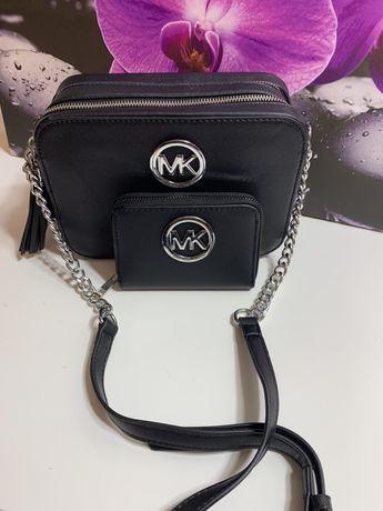 Komplet Mk torebka+ portfel