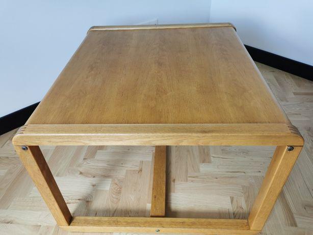 Drewniany stolik kawowy 84x77x53 mm