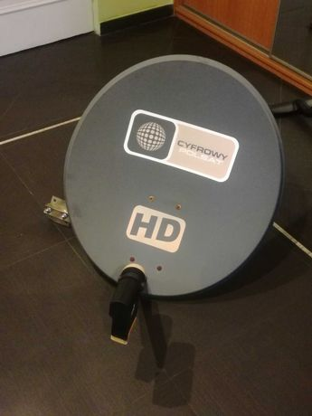 Antena satelitarna plus konwenter