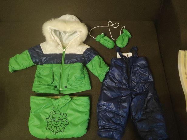 Продается детский зимний комбинезон