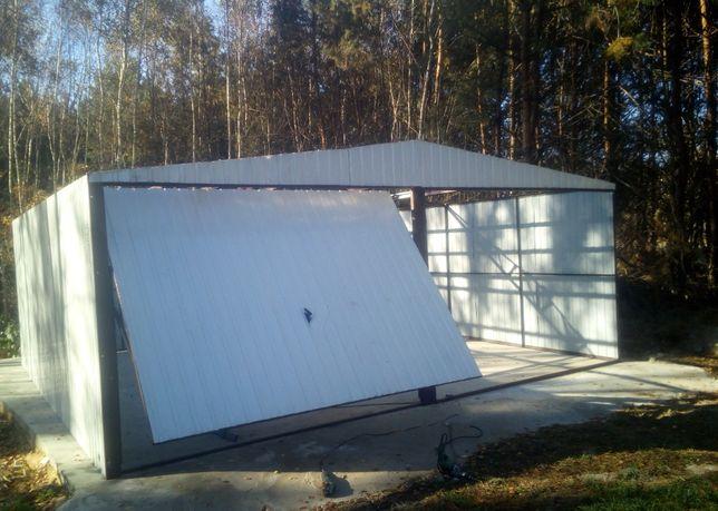 PRODUCENT Garaże blaszane wiaty schowki bramy garaż blaszany blaszak
