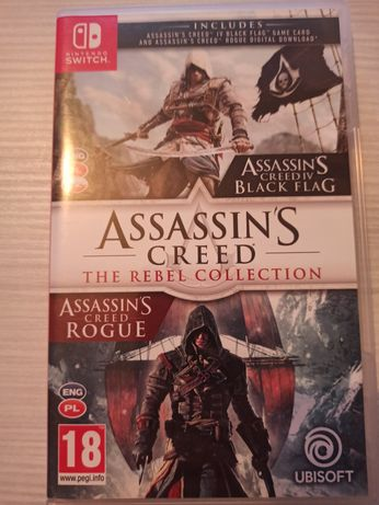 Assasins creed rebel collection Nintendo switch