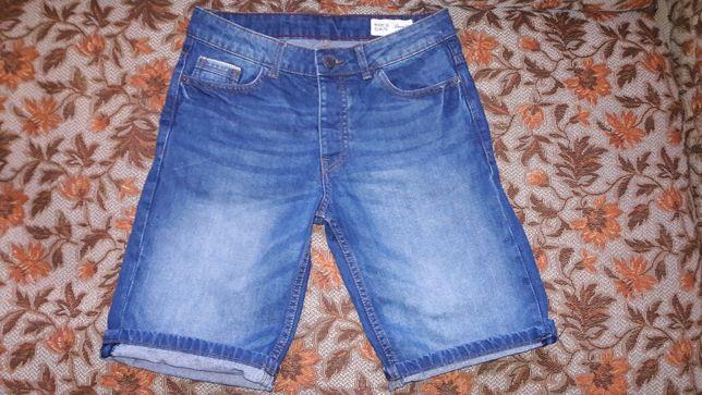 Джинсовые шорты р.28 для подростка