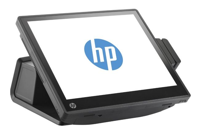 Pos моноблок HP 2 ядра сенсорный терминал для кафе ресторана БУ гарант