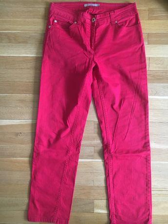 Spodnie monnari rozmiar 38 czerwone