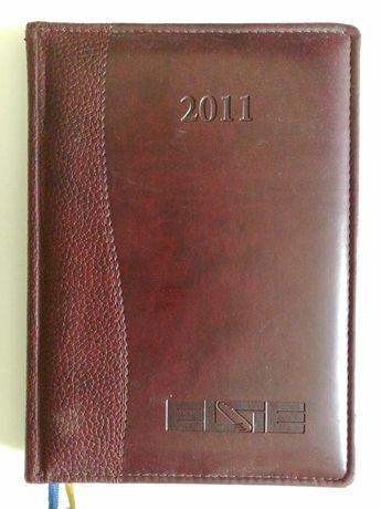 Ежедневник (блокнот) датированный 2011, 2012 год, 150х210 мм, б.у.