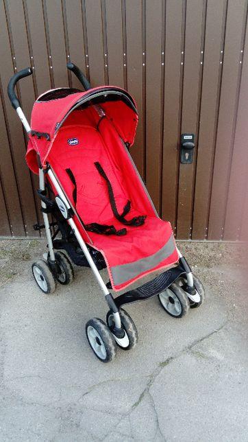 wózek,  spacerówka, wózek parasolka, Chicco, kolor czerwony