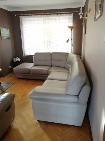Narożnik skórzany, kanapa, wypoczynek, fotel rozkładany