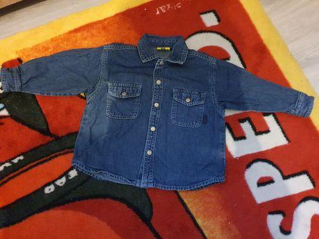Koszula z jeansu