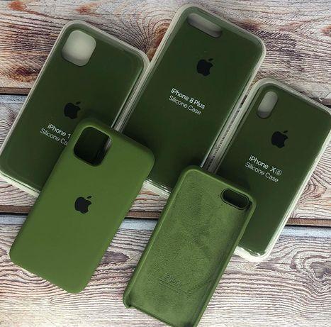 Чехол Хакі для iPhone 6 7 8 X XS XR 11 11pro 6s 7+ 8+ 6+ 11promax