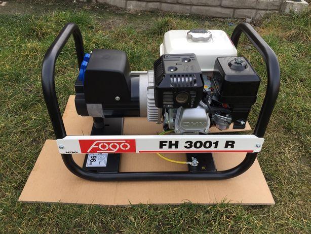 Agregat prądotwórczy FH3001R FOGO - AVR benzyna 3kVA jednofazowy