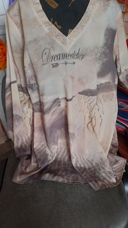 Стан нової,дуже легенька і ніжна блузочка 58 розмір