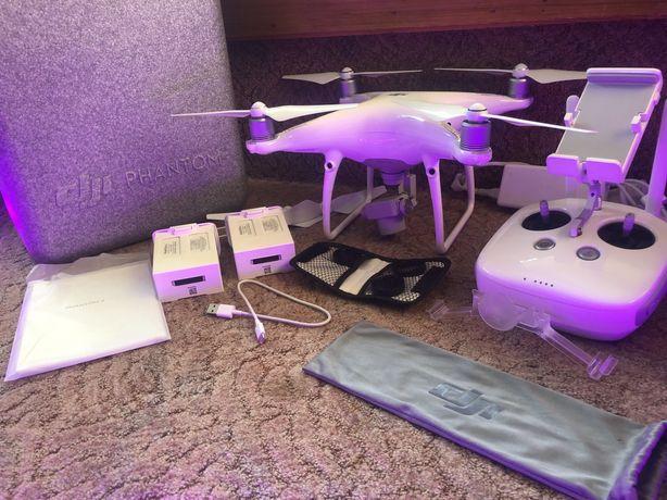 Dron Dji Phantom 4 PRO   Prawie Nowy   Duży zestaw