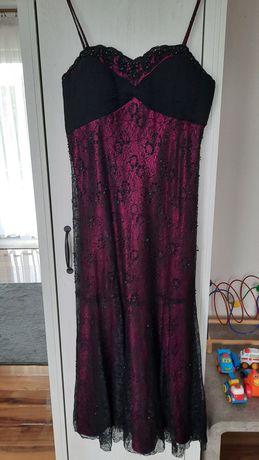 Sukienka długa elegancka r.44