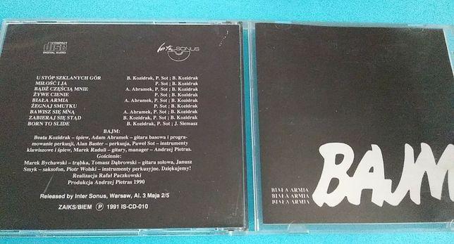 Bajm – Biała Armia , CD 1991 - I wydanie