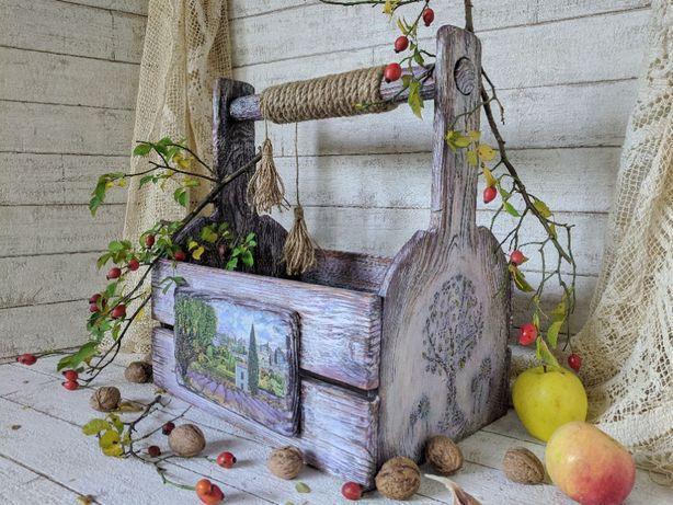 Ящик-короб великий дерев'яний