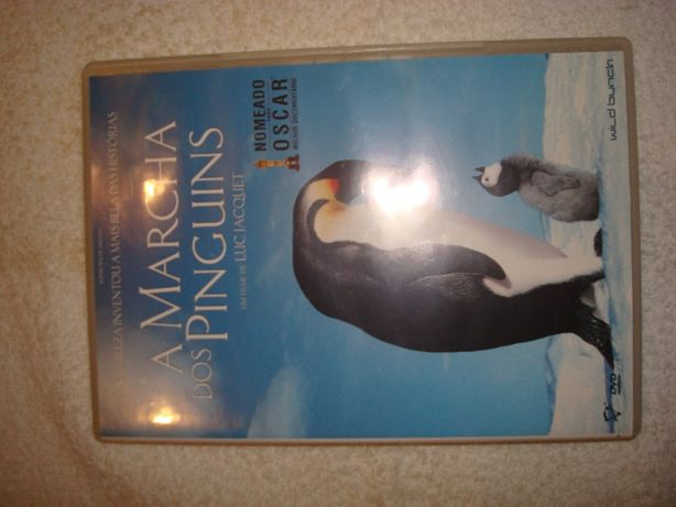 "DVD ""A Marcha dos Pinguins"""