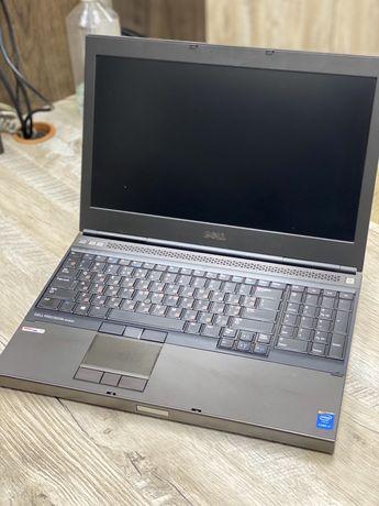 Продам ноутбук Dell M4800 i7/RAM8Gb/Quadro 2Gb/SSDm.2 256Gb