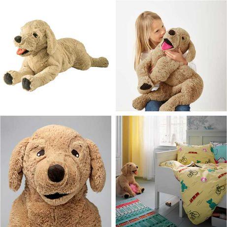 Плюшевая игрушка Ретривер 70 см IKEA - детская мягкая Собачка Пёсик