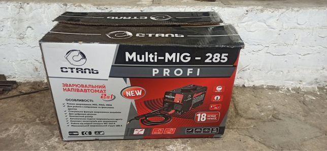Сварочный полуавтомат Сталь MULTI-MIG-285 PROFI