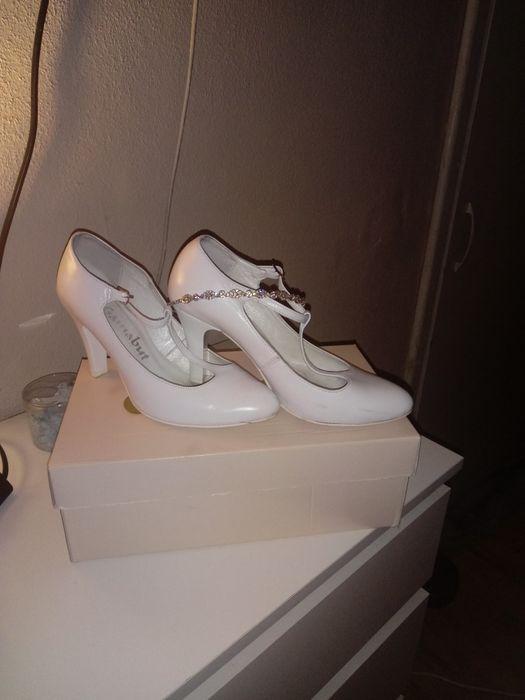 Sprzedam buty slubne Olesno - image 1
