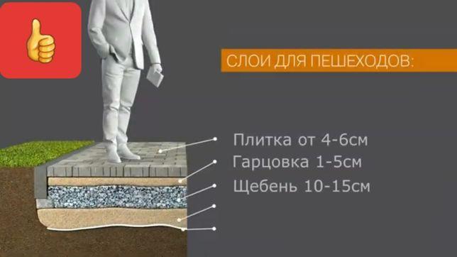 Укладку тротуарной плитки по Чернигову