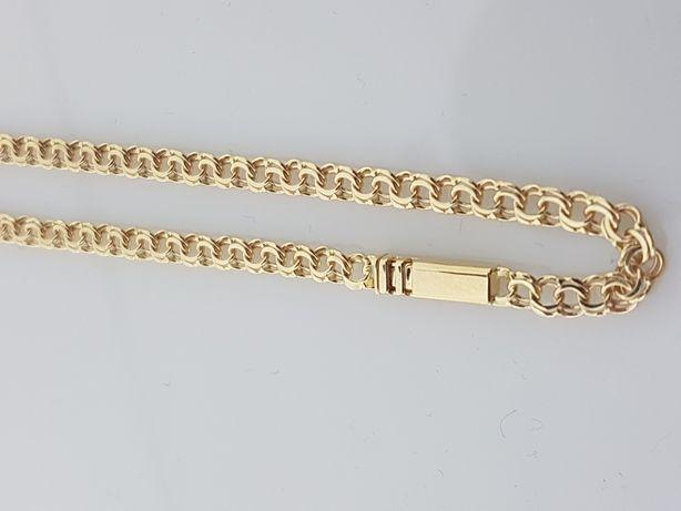 Złoty łańcuszek Garibaldi 14k.Nowy,50cm,9,9g (155)